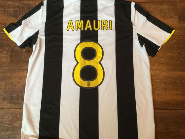 2008 2009 Juventus Amauri Home Football Shirt Adults XL